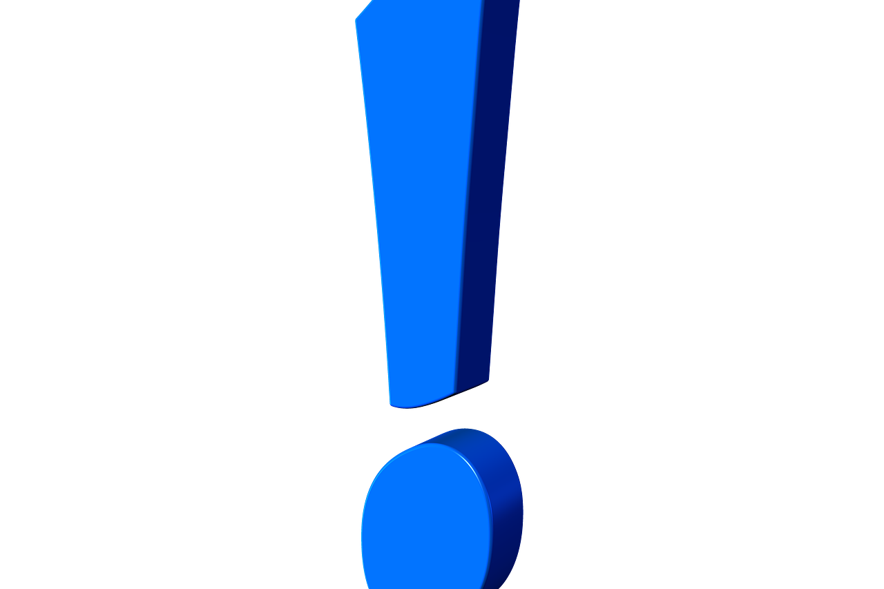 exclamation-point-507768_1280 (c) geralt In: Pixabay.com