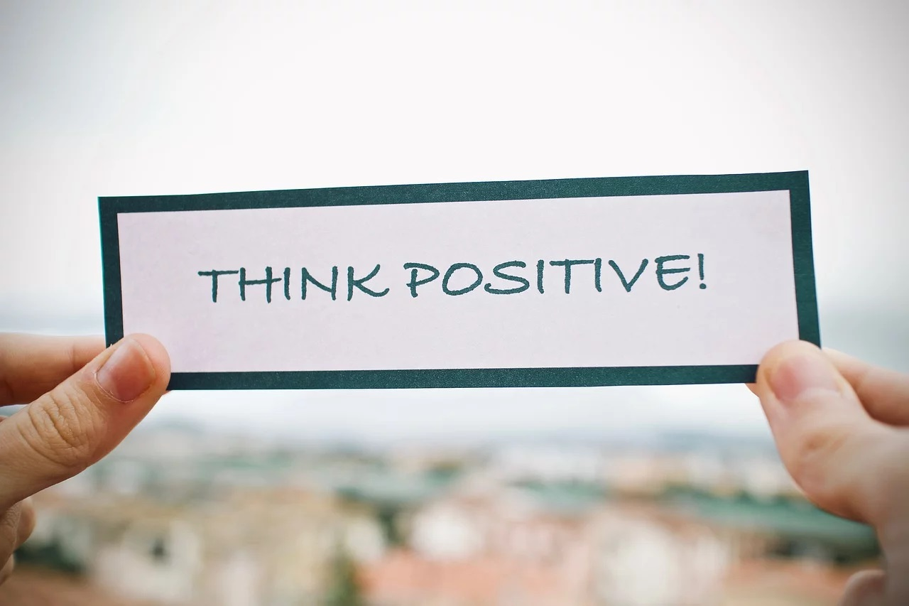 think positive (c) sweetlouise In: Pixabay.com
